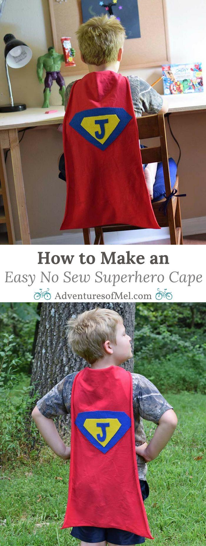 Best 25+ No sew cape ideas only on Pinterest | No capes, Superhero ...