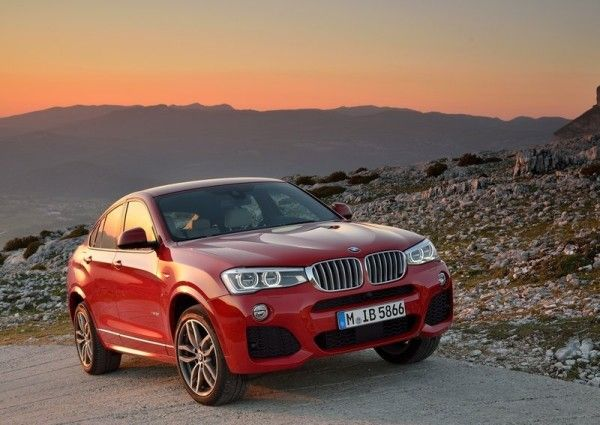 2015 BMW X4 Front View 600x425 2015 BMW X4 Full Review, Features with Images