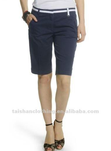 8d605aba4f63e clásico de la mujer pantalones bermudas cortas-Pantalones  Cortos-Identificación del producto 566313828-spanish.alibaba.com