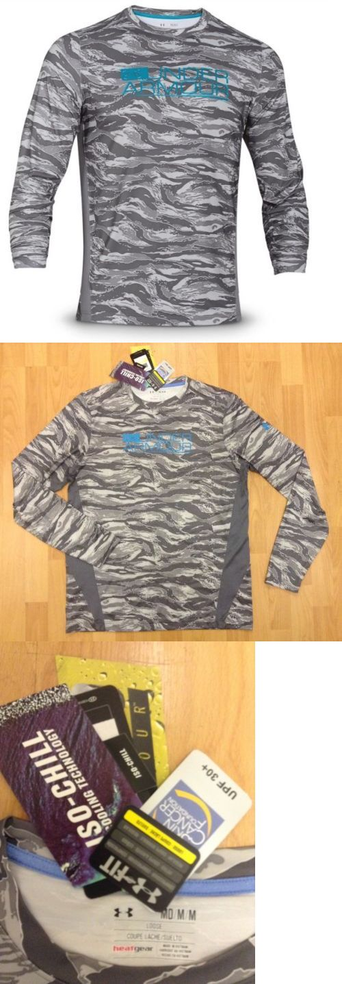 Other Fishing Clothing and Accs 27415: Under Armour Iso-Chill Element Vented Fishing Shirt Men S Medium New With Tags -> BUY IT NOW ONLY: $54.95 on eBay!