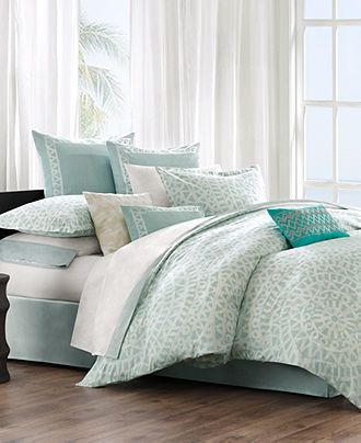Echo Bedding, Mykonos Comforter and Duvet Cover Sets - Duvet Covers - Bed & Bath - Macy's