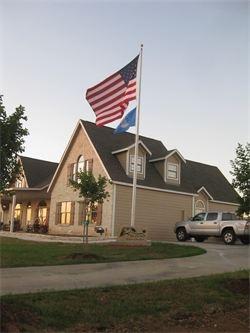 american flag residential