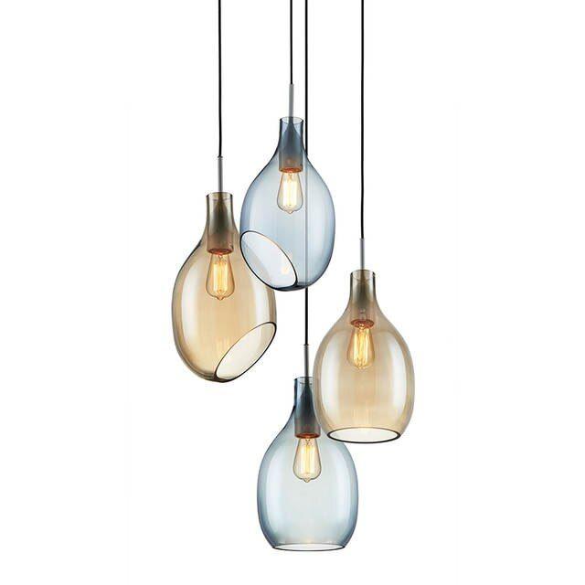 Online Shop Einfache Glas Anhänger Lichter Moder Minimalist