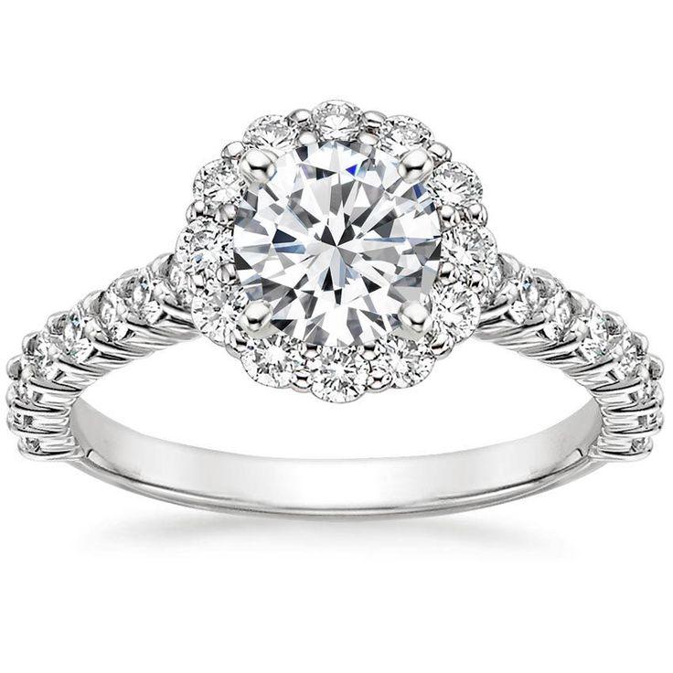 best 25 flower diamond rings ideas on pinterest round. Black Bedroom Furniture Sets. Home Design Ideas