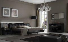 Spectacular Bedroom Design with Black Furniture