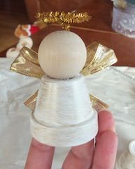 DIY- Angel Bell Ornament