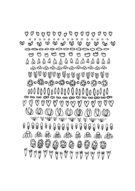 Free coloring page dowland for you #coloringpage #flowers #vector #pattern #weekend