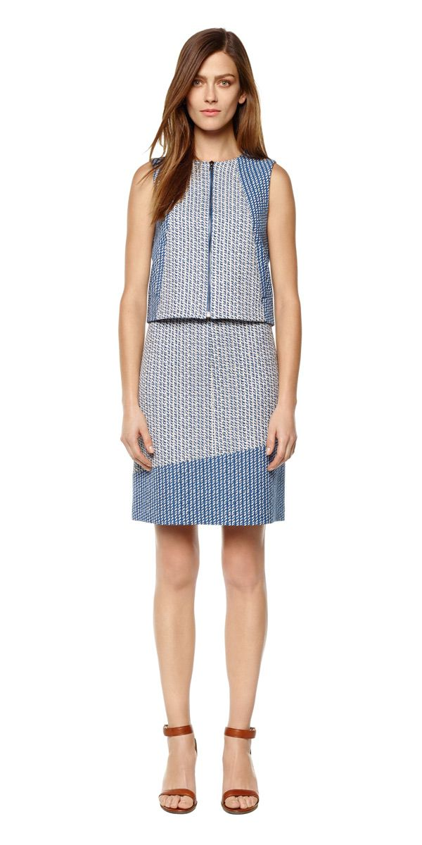 Judith & Charles - Spring 2015 - Catalina Vest - Helix Skirt