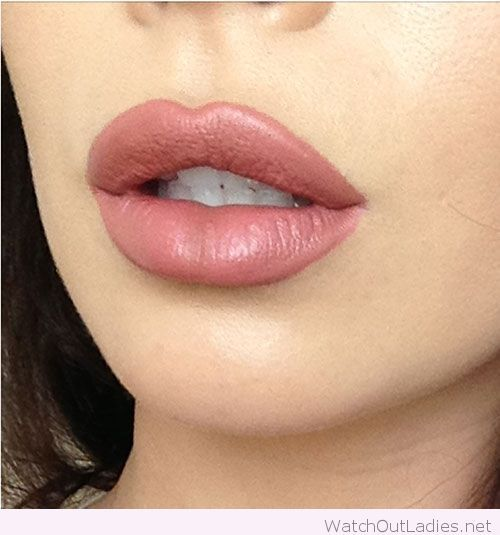 Kylie Jenner's overlined lips trend