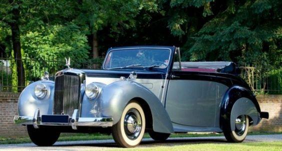 1954 Alvis TC21 Drophead Coupe (Tickford)                                                                                                                                                                                 More