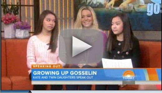 Cara and Mady Gosselin on Today Show