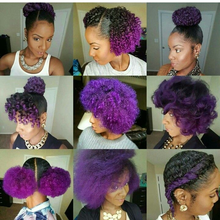 Purple Hair Heaven