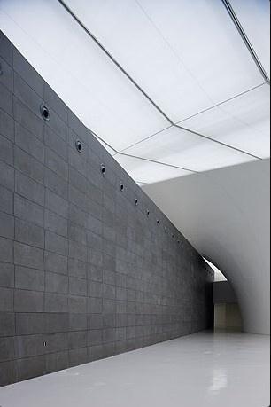 Central Academy of Fine Arts - CAFA Art Museum - Beijing  by Arata Isozaki