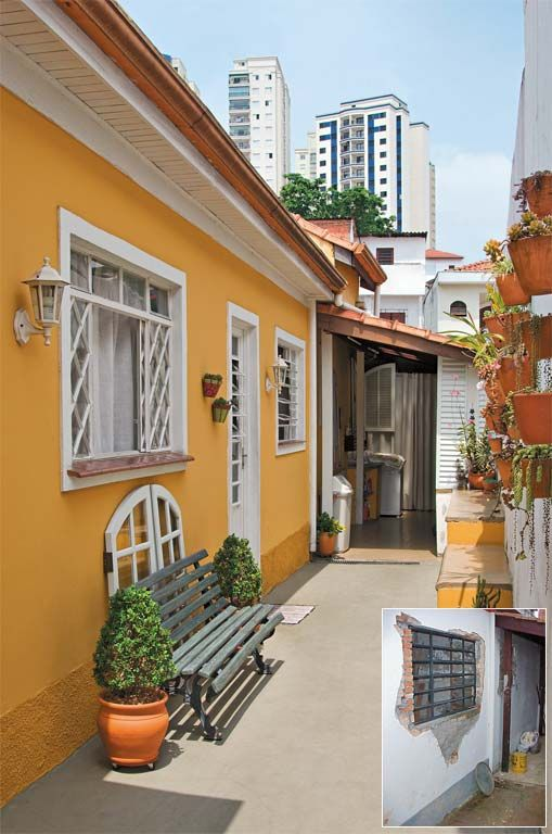Fachada e área externa são reformadas com orçamento enxuto - Casa
