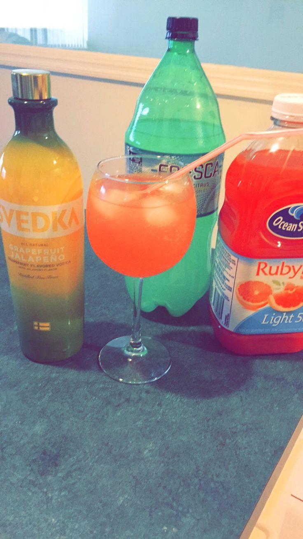 Drinks With Vodka Grapefruit Juice