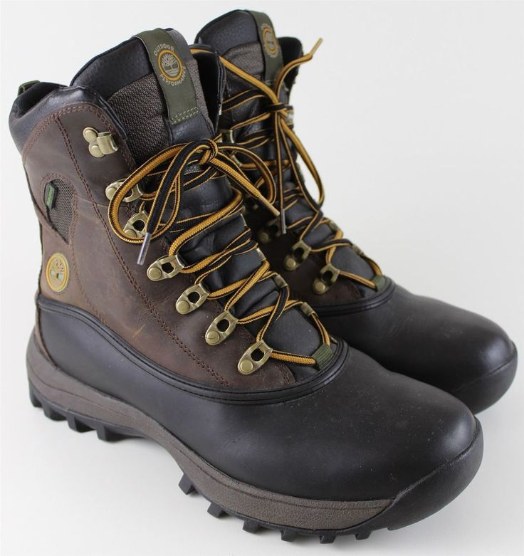 Timberland Canard Wapack Sport Utility waterproof insulated hiking ...