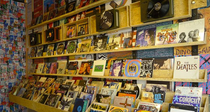 All spaces are becoming hybrid (exhibit 1): Urban Outfitters sell more records than any other retailer