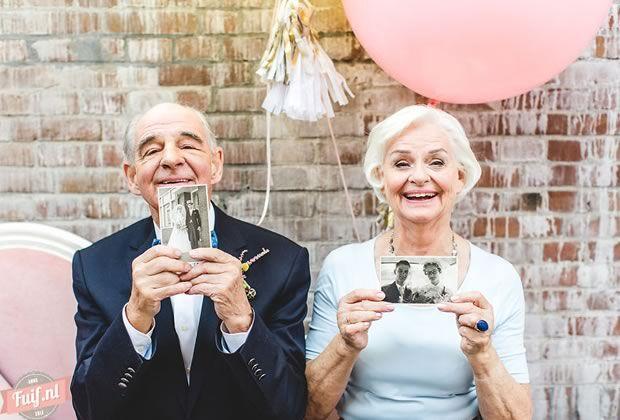 Un couple marié depuis 55 ans et toujours in love présente une série photo des plus mignonnes… Et donne au passage quelque conseils pour faire durer l'amour.