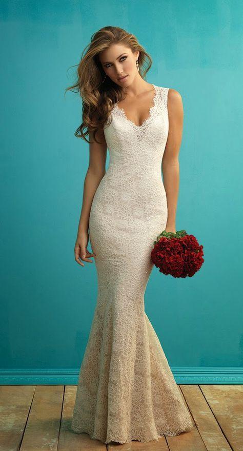 Maravillosos vestidos de novias   Colección Allure Bridals