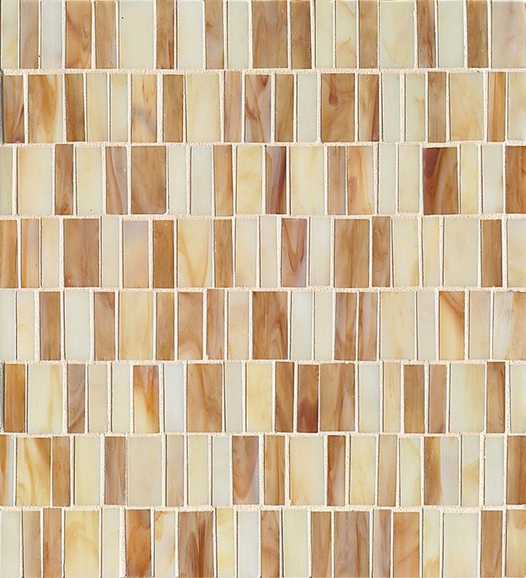 Retrospect- Butterscotch Blend, glass tile