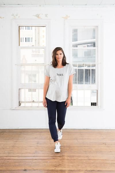 Signature Trainer Maternity Pants. Street style maternity clothes. Harem/slouchie style.