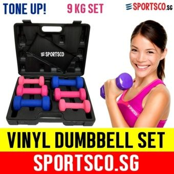 Buy SPORTSCO 9KG Vinyl Dumbbell Set (3 Pairs) (SG) online at Lazada Singapore. Discount prices and promotional sale on all Dumbbells. Free Shipping.
