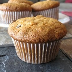 Banana Muffins II Allrecipes.com  yummy.eating one now and they are good.
