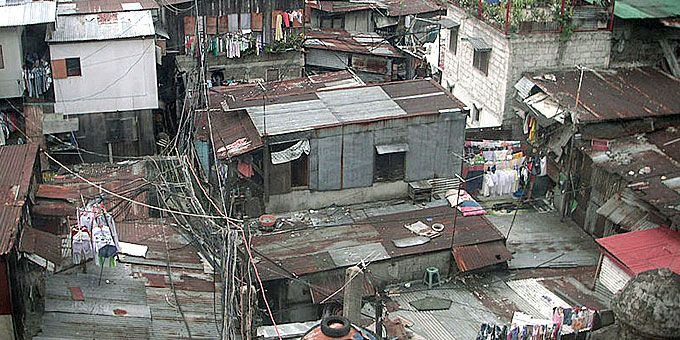Παλάτια και παράγκες: Ένας πλανήτης… άνισος Μανίλα, Φιλιπίνες