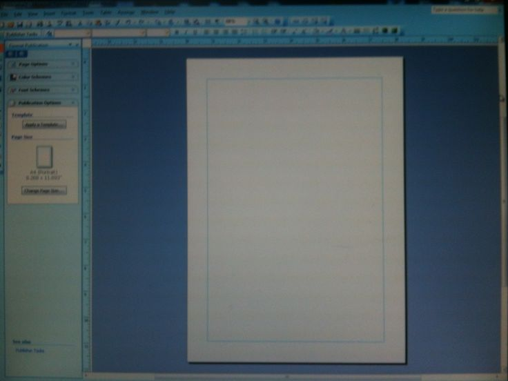 How to Add Pages in Microsoft Publisher