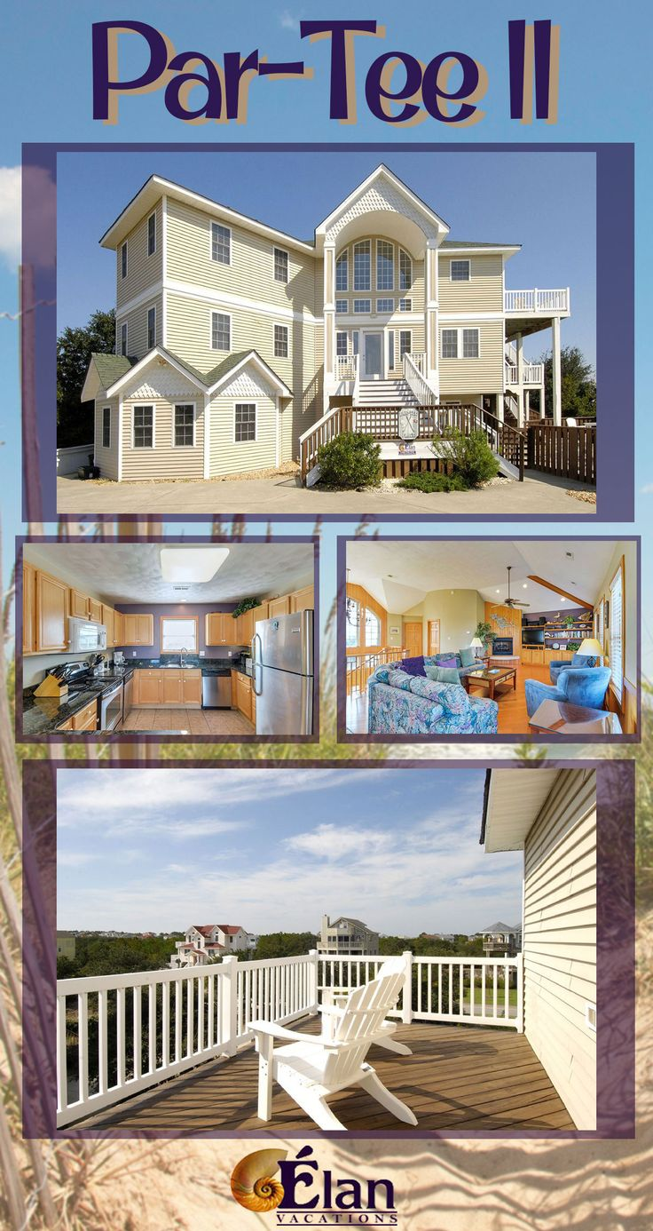 If you are looking for a grand Outer Banks, NC vacation rental...then Par-Tee II is just what you need. With 7 bedrooms and a private pool, you can't go wrong! Book today!