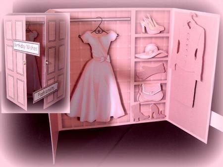 Card Gallery - Pretty in pink wardrobe card kit