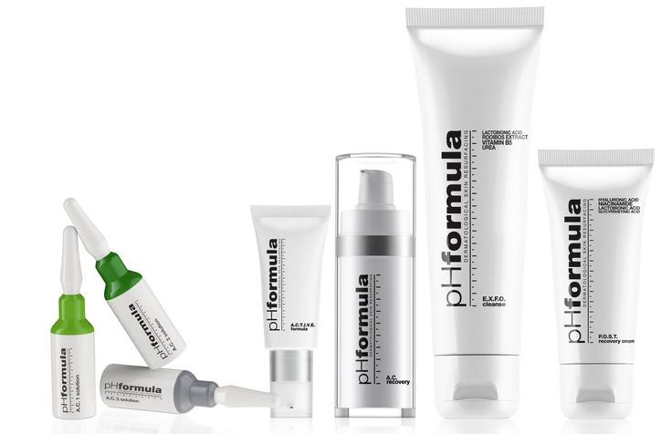pHformula's acne resurfacing treatment solutions, are applied by a skin specialist, and include pyruvic acid to penetrate the skin deeply and slowly, azeloglycine, which reduces and inhibits the growth of microbes in hair follicles, and mandelic acid, which kills the microbes, associated with acne breakouts. The treatment works to normalize your skin as quickly and effectively as possible. Speak to your skin specialist today for effective acne treatments. #skincare #acne #treatments