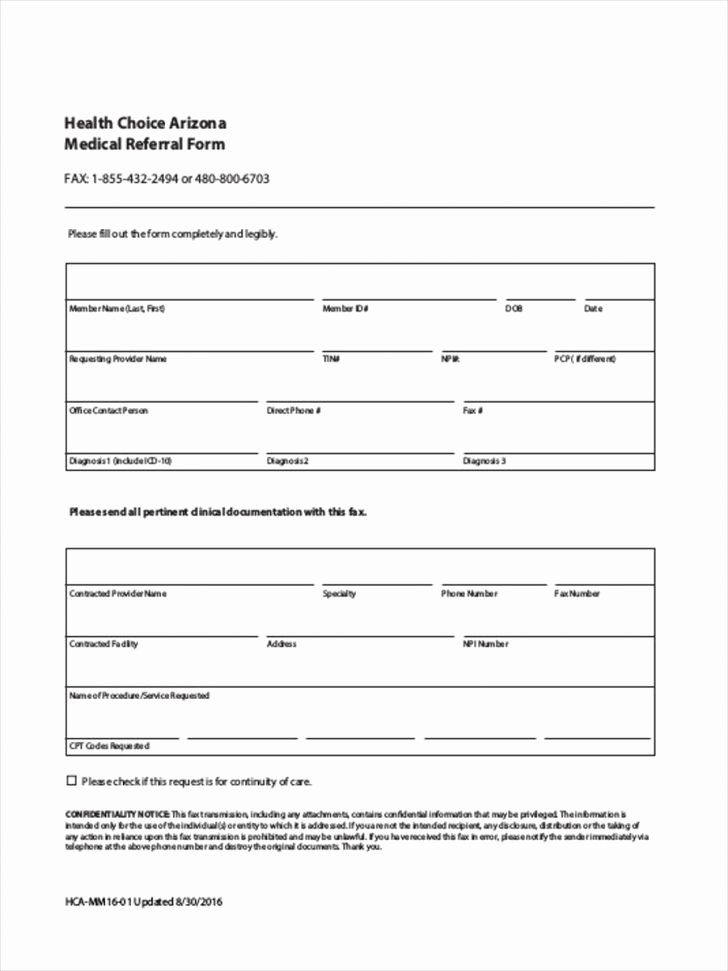 Medical Referral Forms Template In 2020 Templates Cv Template