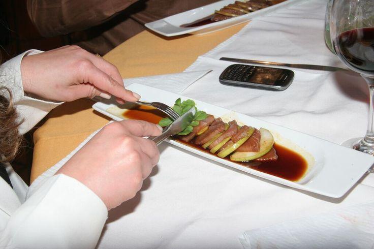 El placer de comer