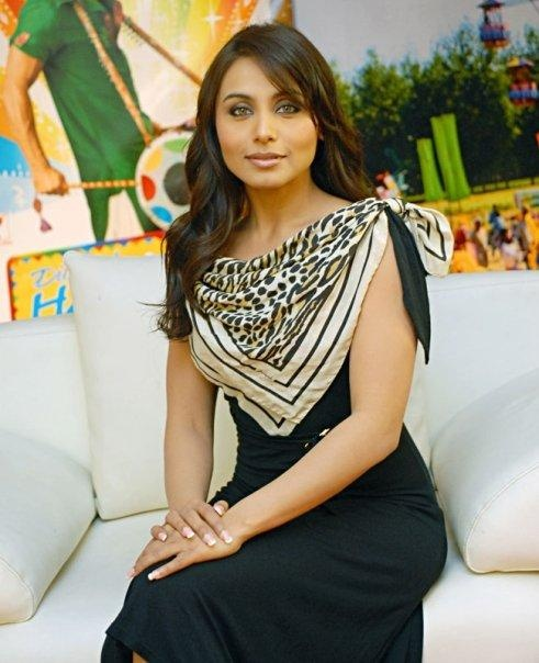 My Favorite ..... Bollywood actress Rani Mukerji.... amazing eyes and a voice to die for.... the Best actress of all time