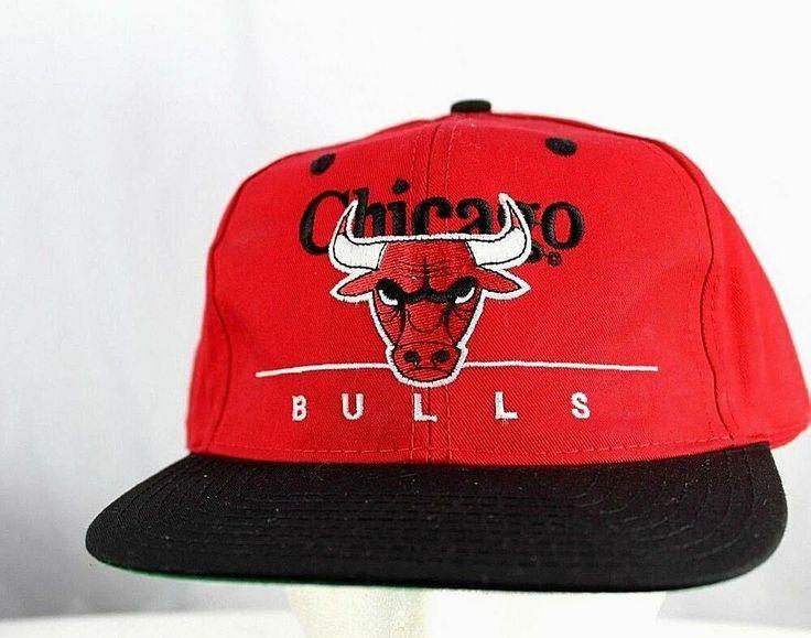Chicago bulls baseball hat redblack snapback
