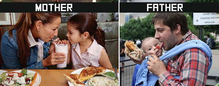 10 Differences Between Mothers and Fathers Taking Care of Kids