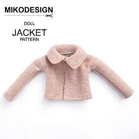 free doll jacket pattern mikodesign | PATTERNS & TUTORIALS