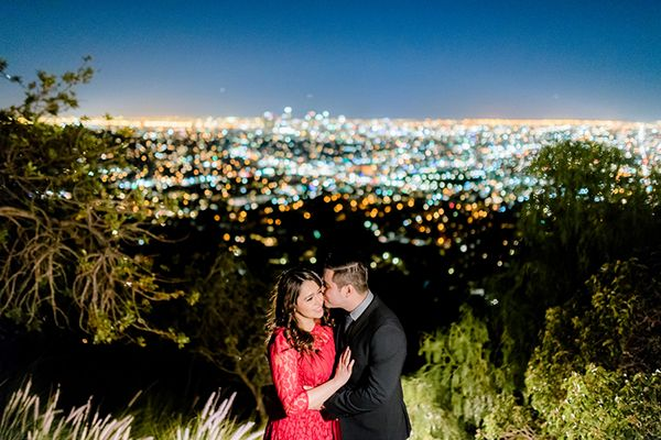 Observatory engagement photo