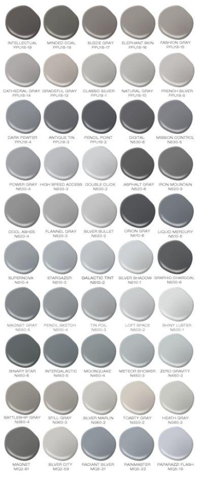 gray shade chart