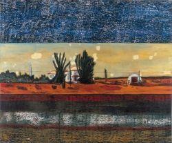 Peter Doig Grasshopper 1990 Oil on Canvas 200 x 250cm