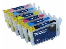 6 Pack Epson 79 Empty Refillable Ink Cartridge