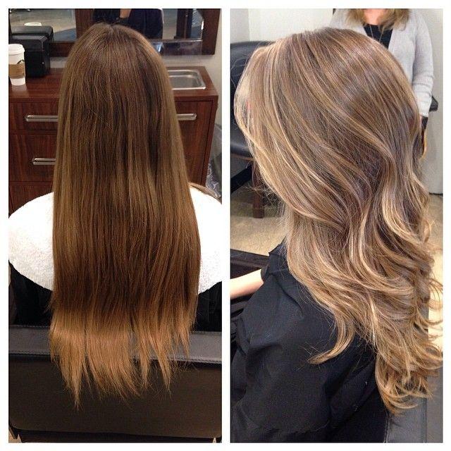 Color Hair Styles Balayage Hair Dark Blonde Hair