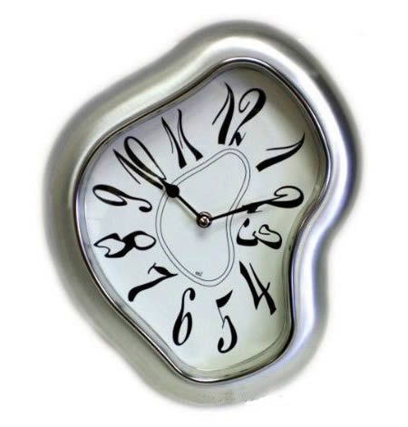 Meet the Dali Inspired Clock ($44.99). Inspired by Salvador Dali's famous melting clock from The Persistance of Memory, this tormented timepiece is sure to become a good conversation piece; it's the most surreal wall clock you'll ever own.