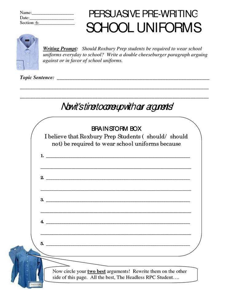 Persuasive Essay Examples High School Students