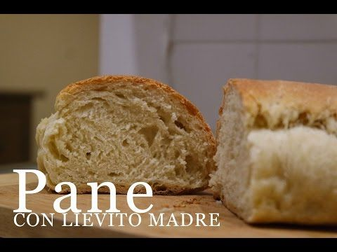 Pane fatto in casa con lievito madre | impasto BASE | CasaSuperStar - YouTube