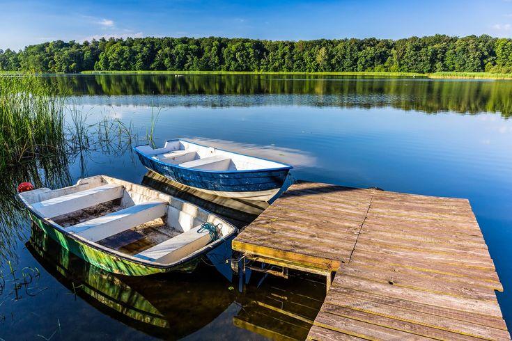 Masuren Masurische Seenplatte Boote
