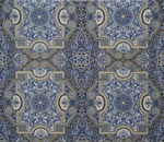 "Robert Kaufman Florentine Ceiling Tiles Indigo (18"" Repeat)   On Hancocks of Paducah"
