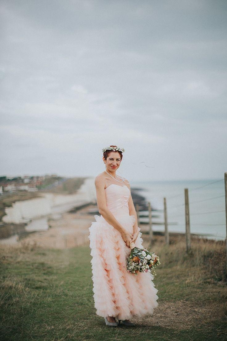 39 best Coloured Wedding Dresses images on Pinterest | Colored ...