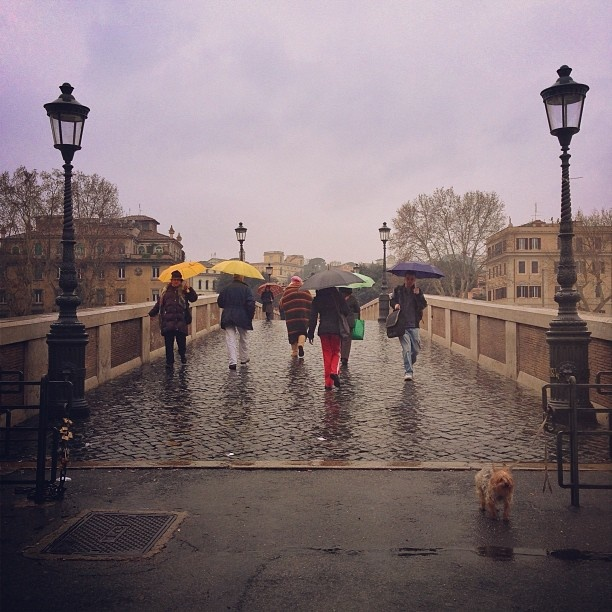 Ponte Sisto--reminds me of walking back to my apartment in Trastevere :(